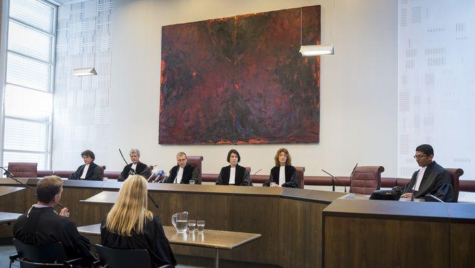 Rechtbanken in heel Nederland zien het aandeel vrouwen de afgelopen tien jaar groeien.