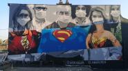Graffiti-artiest 'Massi' brengt eerbetoon aan zorgverleners