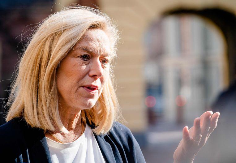 Sigrid Kaag (D66). Beeld AFP