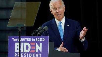 """Joe Biden schrapt alle verkiezingsmeetings: """"Ik volg het advies van de dokter"""""""