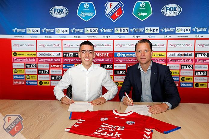 Samir Ben Sallam komt drie jaar FC Utrecht versterken.
