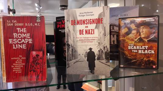 Over de Rome Escape Line zijn meerdere boeken en films verschenen.
