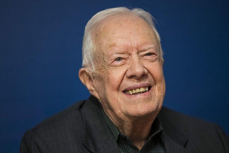 Voormalig Amerikaans president Jimmy Carter. Beeld AFP