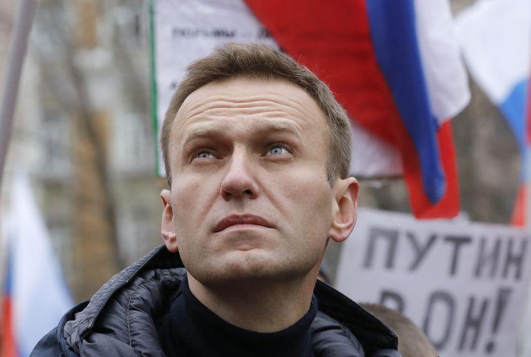 Russisch oppositieleider Alexeï Navalny.