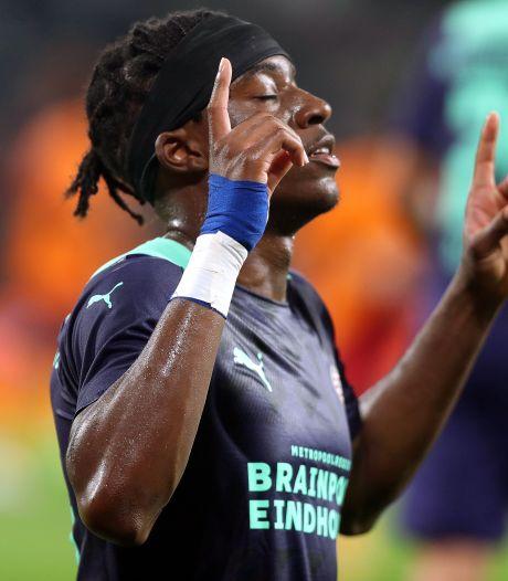 Madueke content met het vertrouwen dat hij nu krijgt bij PSV