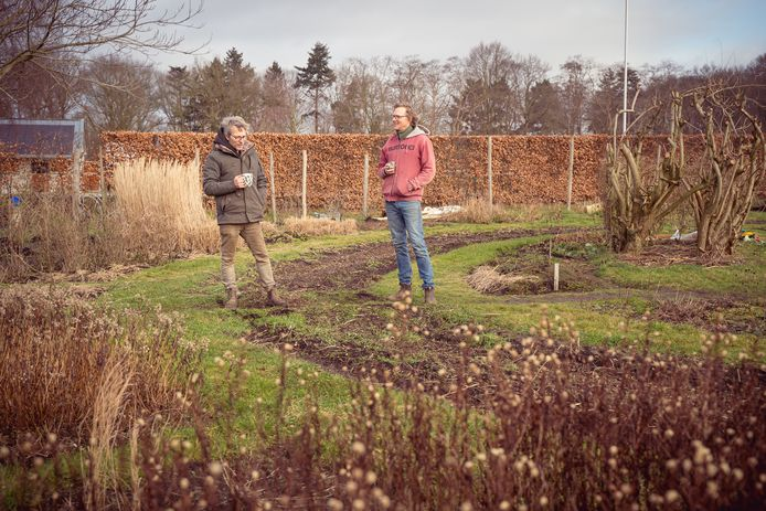 Pieter Lammerts en Klaas Nijhof.