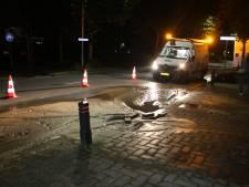 Overlast in Nijverdal door leidingbreuk: 55 huishoudens een nacht zonder water