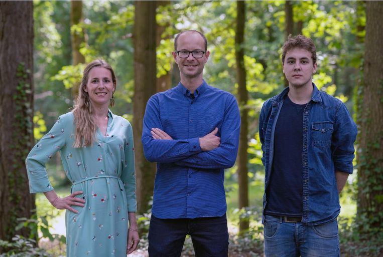 Hanna Van Steenkiste, Mattias Bouckaert en Tom Van Den Berghe.
