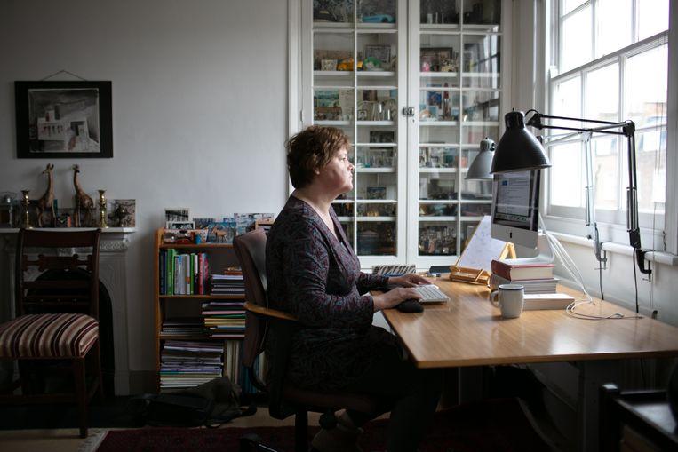 Carolyn Steel: 'Voedsel blijkt een briljante metafoor voor het leven'. Beeld Edward Thompson