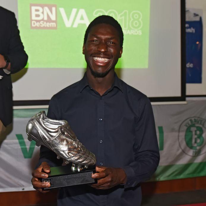 Ibrahim Ikililou, Zilveren Schoen-winnaar in 2018, scoorde driemaal namens PCP.