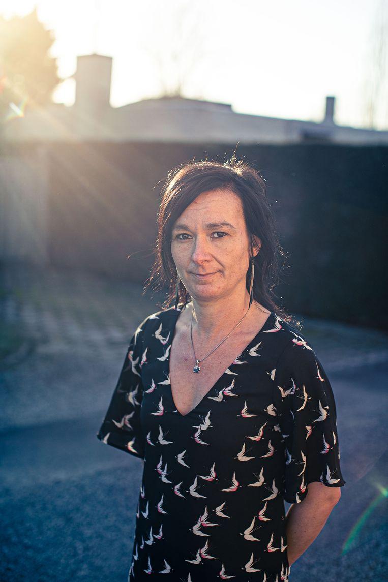 Charlotte Spriet had in april 2020 Covid-19: 'Ik leef nog steeds op Dafalgan'.  Beeld Bas Bogaerts