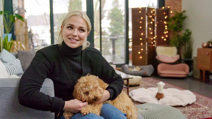 Beestig; seizoen 2 vanaf zaterdag 25 april 2020 bij VTM. Op de foto: Julie Van den Steen