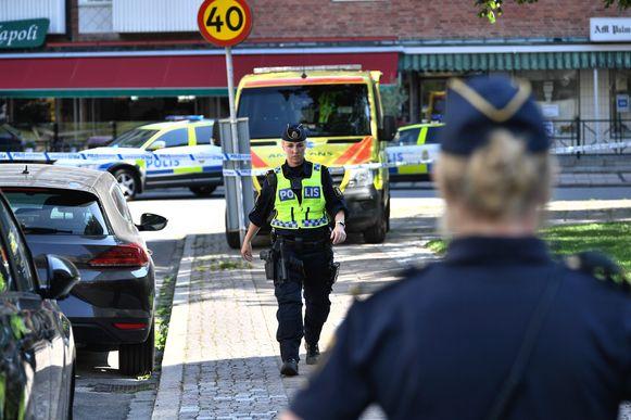 Maandag al kwam een vrouw met een baby in haar armen om het leven in Malmö.
