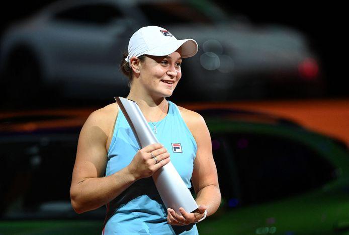 Ashleigh Barty ajoute le tournoi de Stuttgart à son palmarès.