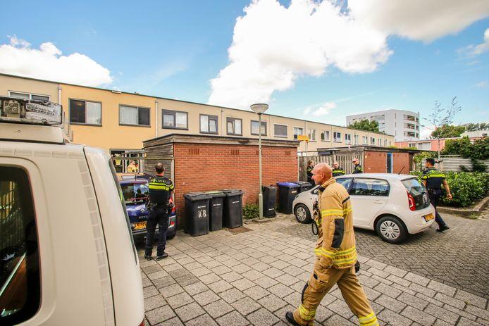 Brand in een woning in Dordrecht.