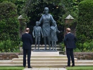 Een mooi standbeeld en een anticlimax: dit was de ceremonie voor Diana's zestigste verjaardag