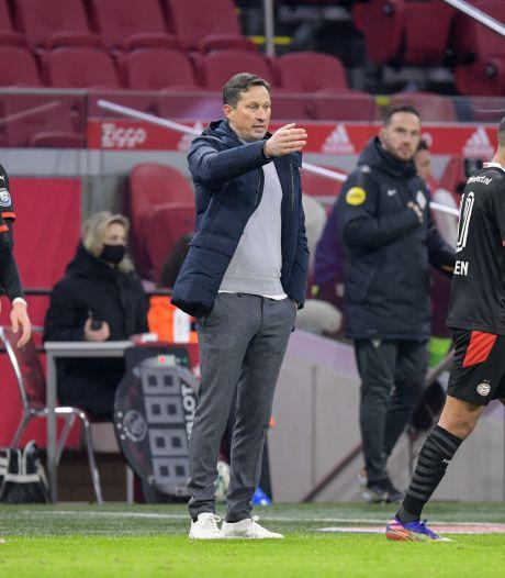 Schmidt kan leven met punt: 'Het was een duel met strijd, dynamiek en mooie goals'