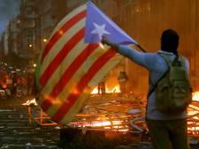 Les manifestations ont encore fait rage cette nuit à Barcelone