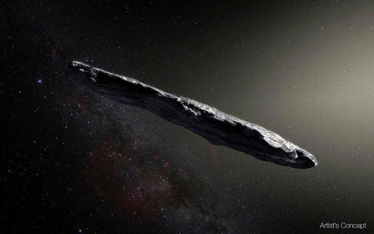 Er was een buitenaards zonnezeil op bezoek in ons zonnestelsel, Avi Loeb blijft erbij - Trouw