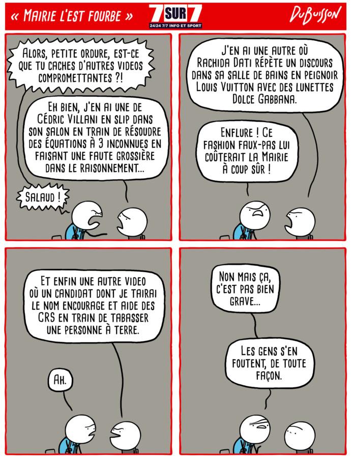 """Mairie l'est fourbe"""