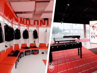 Antwerp-spelers nemen intrek in hypermodern nieuw complex