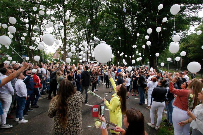 In juni 2018 herdachten vrienden en familie de verongelukte Willy Kwarten op de plaatst van het ongeval.