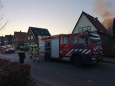 Bewoners vluchten met hond naar buiten door brand in keuken in Renkum