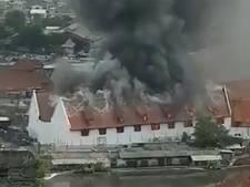 Nederlands koloniaal erfgoed vernietigd door grote brand in Jakarta