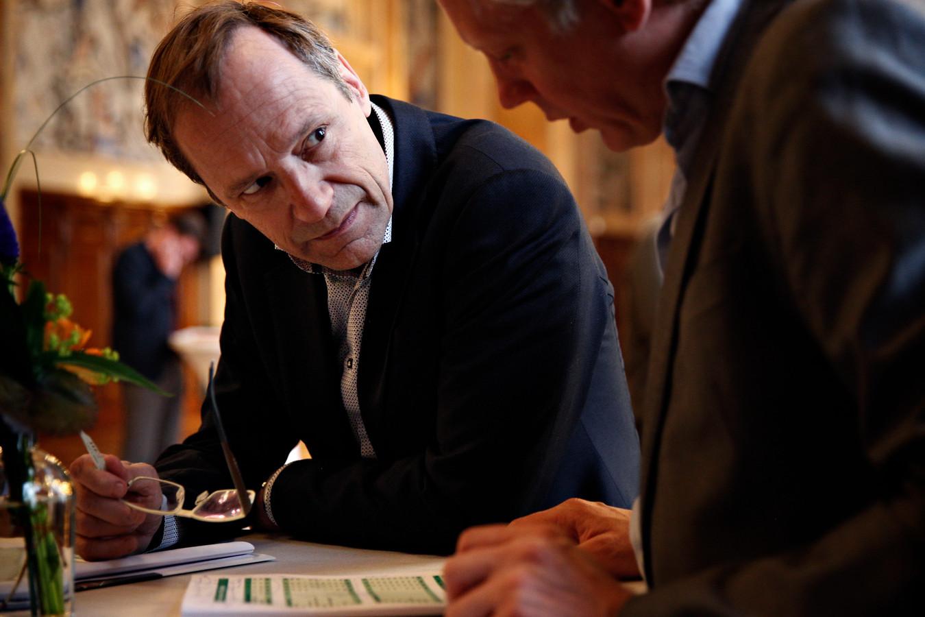 Paul Hofstra, de scheidend directeur van de Rekenkamer Rotterdam.