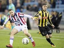 Linssen schiet Vitesse in extremis naast Willem II