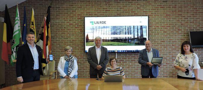 Lierde heeft een nieuwe gemeentelijke website.
