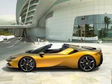 Deze opper-Ferrari heeft vier motoren, 1000 pk én een open dak