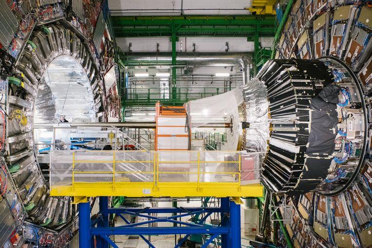 De deeltjesversneller in het CERN. Beeld Wouter Van Vooren
