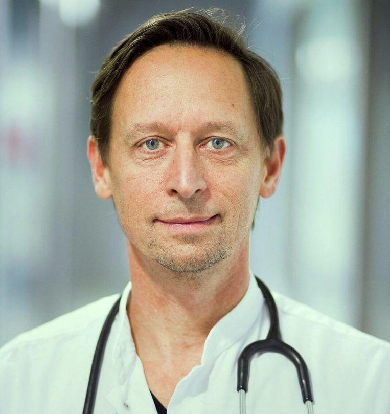 Leonard Hofstra, cardioloog en bijzonder hoogleraar in preventie van hart- en vaatziekten bij VUmc Beeld .