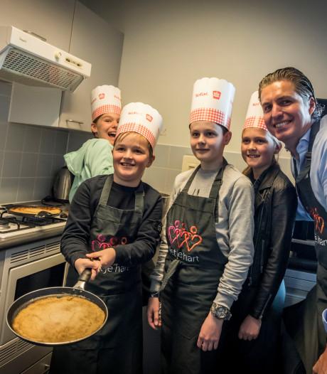 Pannenkoeken bakken met je hart in Aalst, op Nationale Pannenkoekendag