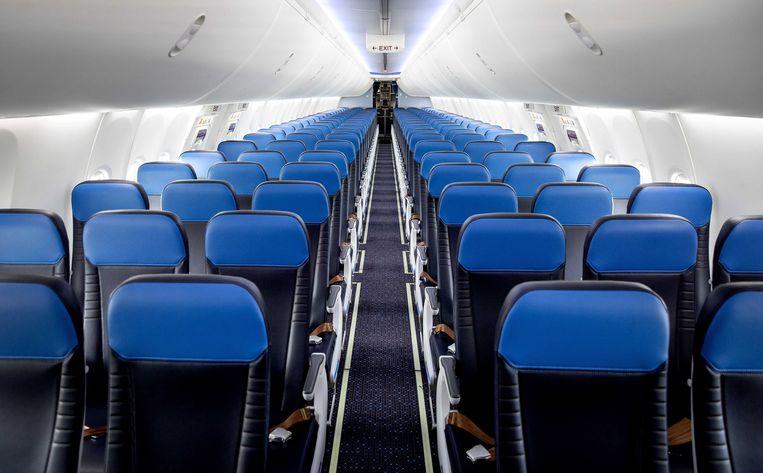 Van alle Nederlandse bedrijven kreeg luchtvaartmaatschappij KLM vorig jaar verreweg de meeste steun van de overheid. KLM hoeft de subsidie voor loonkosten niet terug te betalen.  Veel andere bedrijven moeten dat wel: zij kregen te veel. Beeld EPA