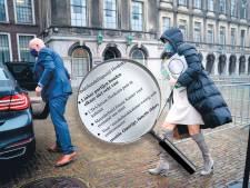 Oud-informateurs over verkennersblunder: 'Je kunt je niet zo bemoeien met de functie van Kamerleden'