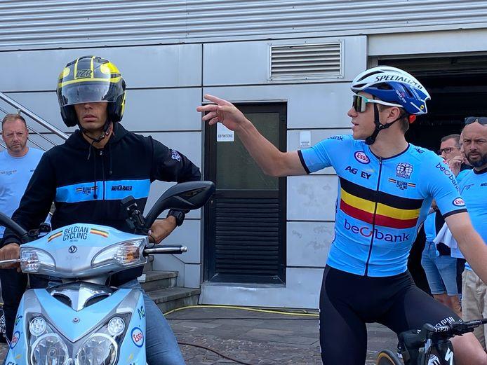Remco Evenepoel est ambitieux à Trente, où il disputera le chrono et la course en ligne des championnats d'Europe.