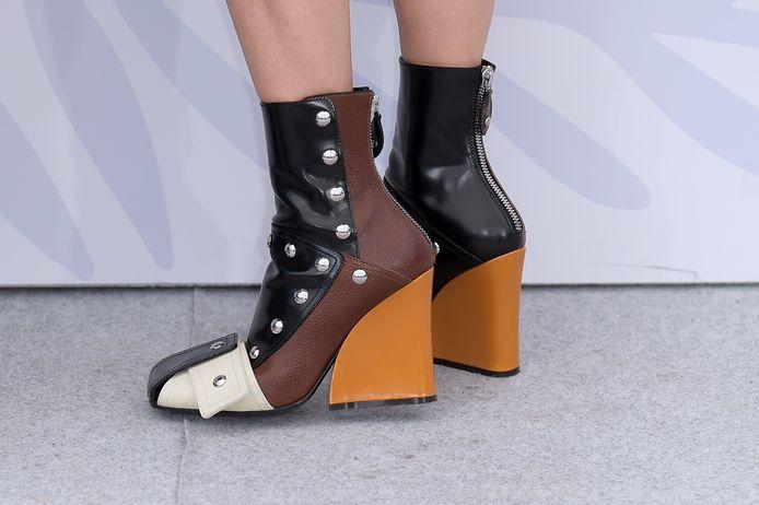 Les chaussures de Marina Foïs