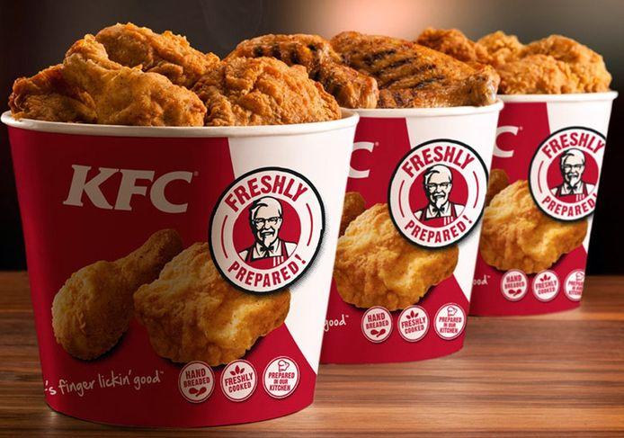 KFC opende dinsdag haar eerste zaak in Dordrecht.