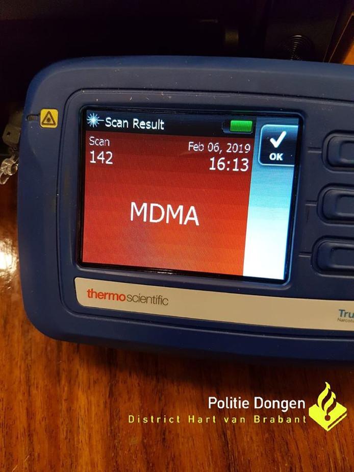 MDMA-pillen gevonden in Dongen.