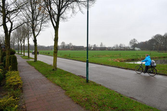 De locatie van Mastenbroek II, de eerste nieuwe wijk in Achterveld.