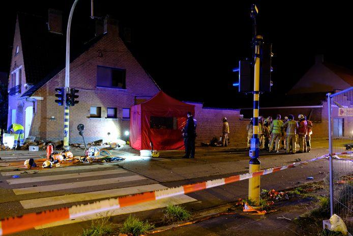 Het ongeval gebeurde in de Koekelarestraat in Kortemark.