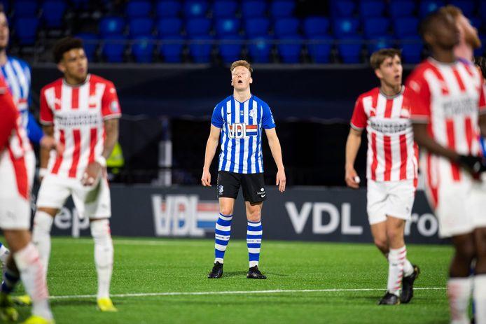 FC Eindhoven ging op eigen veld onderuit tegen Jong PSV.