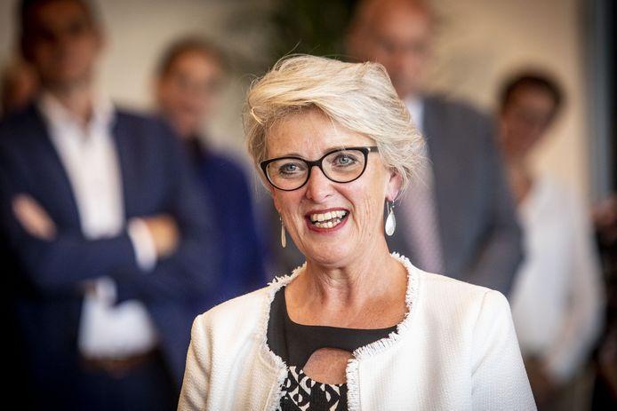 Burgemeester Doret Tigchelaar.