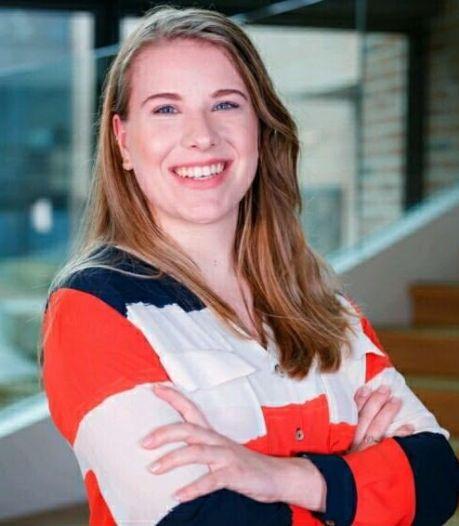 Eva Kerklaan (23) uit Nijverdal: 'Ik wil de eerste vrouwelijke premier van Nederland worden'