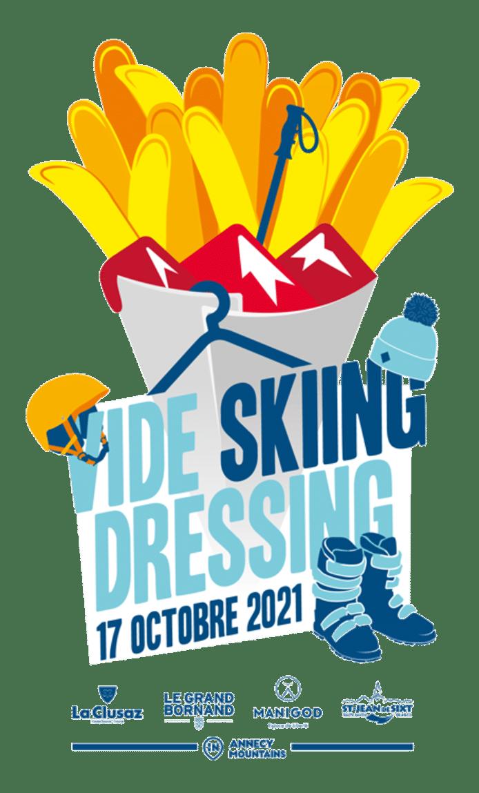 Le premier vide dressing sur le thème du ski se tiendra le 17 octobre à Etterbeek.