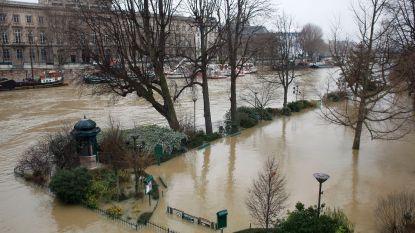 Parijs sluit stations wegens hoogwater