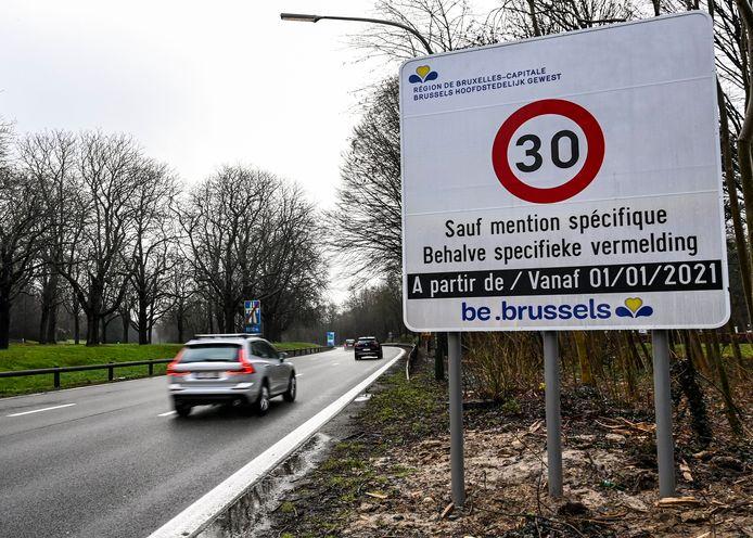 Bruxelles est passée en zone 30 généralisée depuis le 1er janvier.