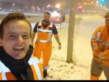 Rotterdamse strooimannen gaan viraal met aanstekelijk filmpje: 'Hatsikidéé!'
